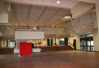 Eingangshalle wird zum Foyer