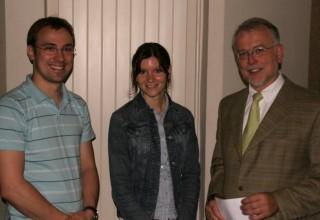 Zwei neue Lehramtsanwärter am Gymnasium Borghorst