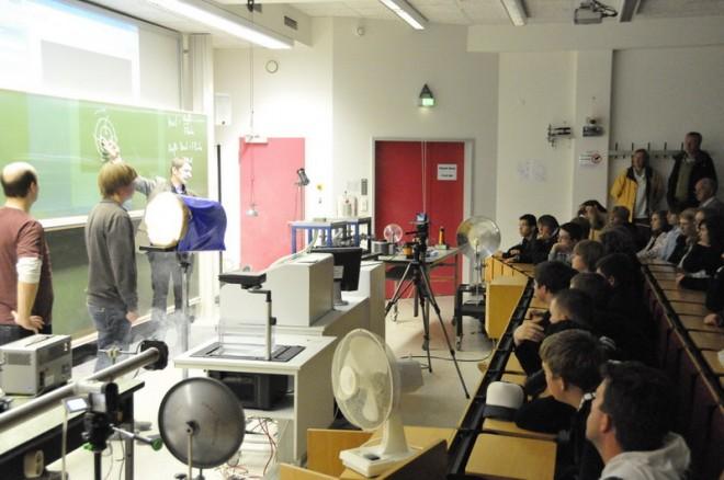 Besuch bei der Fachhochschule Münster/Steinfurt