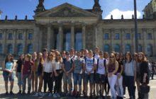 Sonne vor dem Bundestag