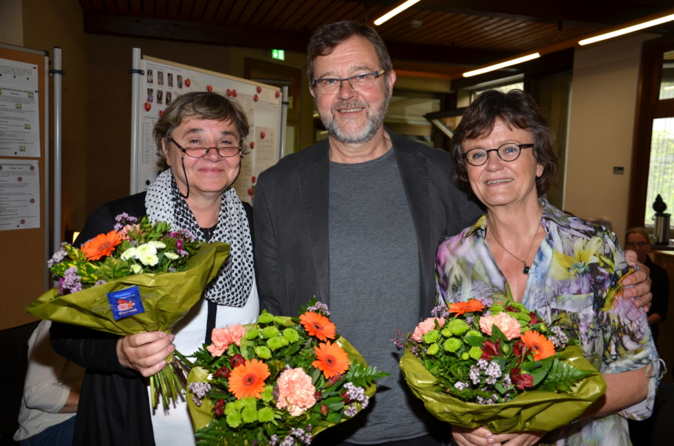 Frau Adämmer, Frau Denk udn Herr Engel verlassen das GymBO ;-(